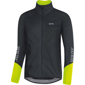 GORE WEAR C5 Gore-Tex Active Jas Heren, black/neon yellow
